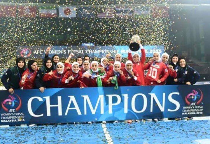 تیم فوتسال بانوان ایران با تک گل فرشته کریمی به مقام قهرمانی اولین دوره رقابت های فوتسال قهرمانی آسیا رسید.