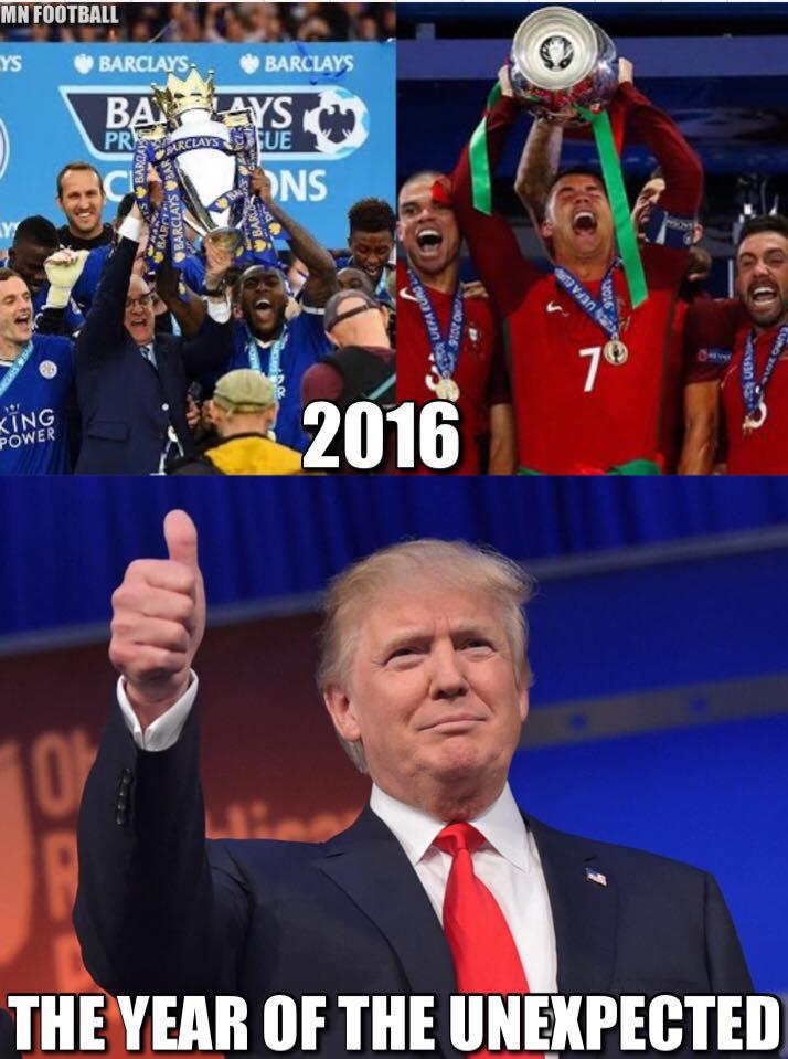 2016؛ سال شگفتیها/ ترامپ؛ شگفتی بزرگ2016/ روزنامه بهار